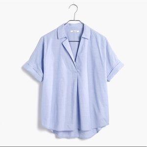 Madewell Courier Back Button Shirt